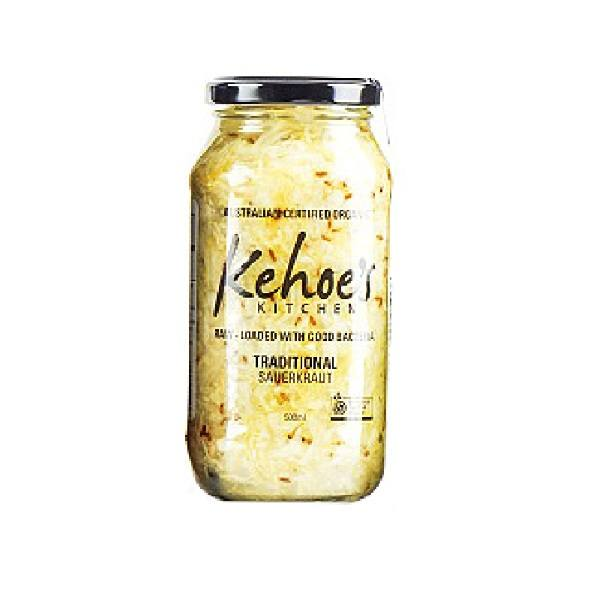Kraut, Traditional (Kehoes Kitchen) – 500g Jar