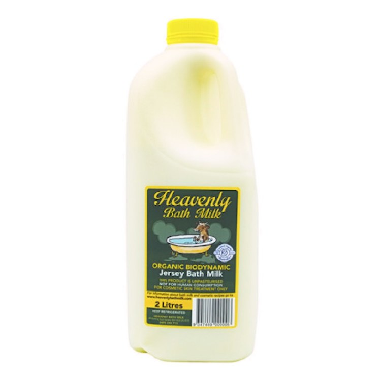 "Organic Milk, ""Bath"" Raw Milk – 2Lt"