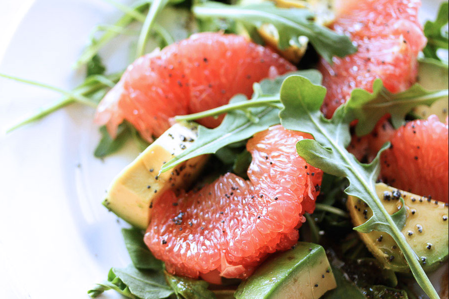 Grapefruit Avo Salad