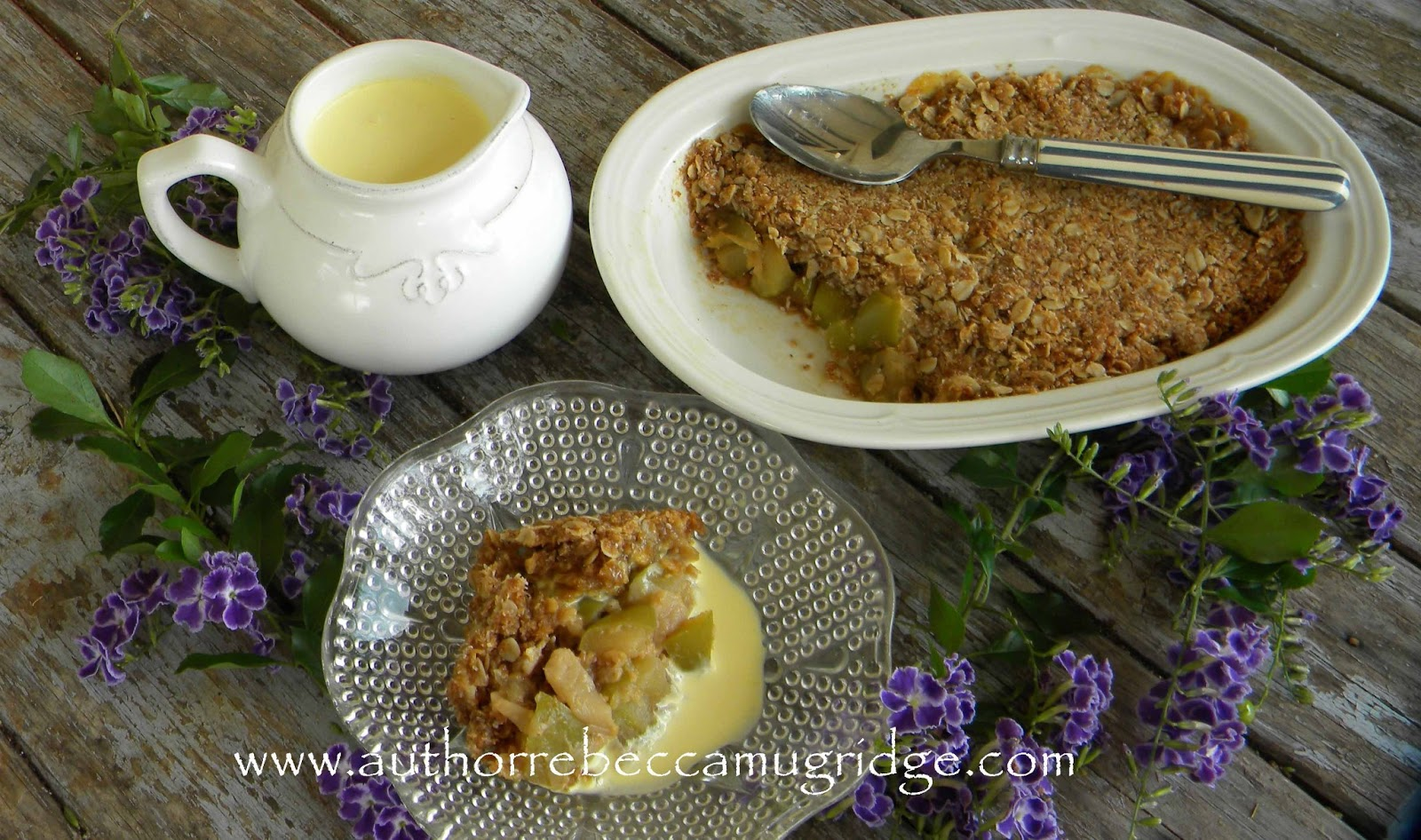 Tropical Fruit Recipe: Custard Apple & Coconut Crumble