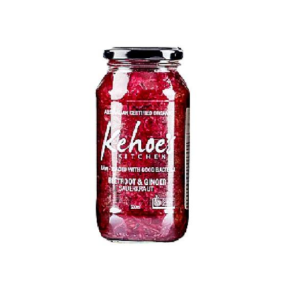Kraut, Beetroot & Ginger (Kehoes Kitchen) – 500g Jar