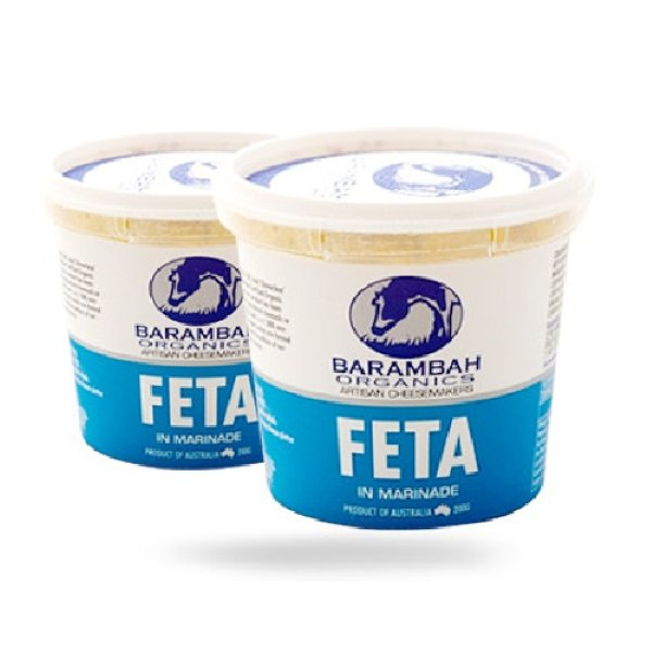 Organic Cheese, Marinaded Feta – 200g