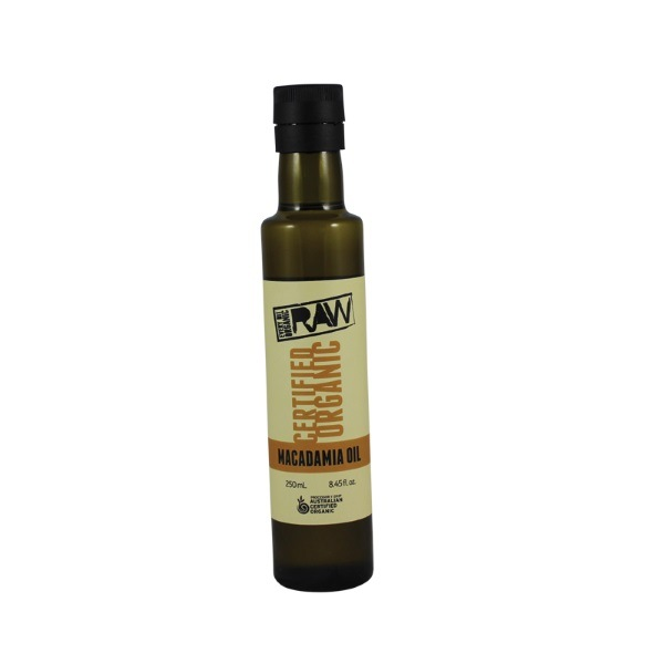 Organic Macadamia Oil, Raw – 250ml