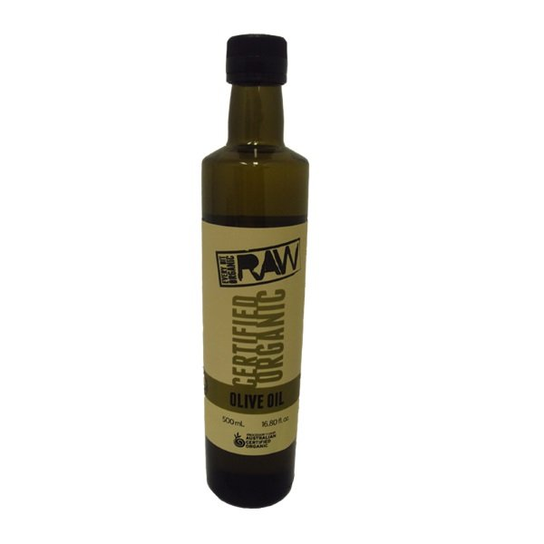 Organic Olive Oil, Raw – 500ml
