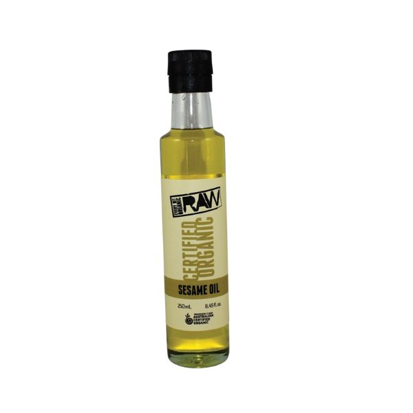 Organic Sesame Oil, Raw – 250ml