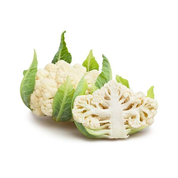 Organic Cauliflower – Half Head