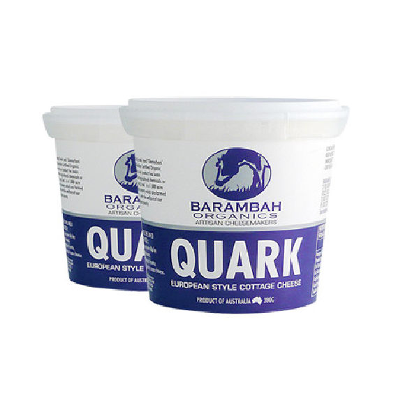 Organic Cheese, Quark (Barambah) – 365g